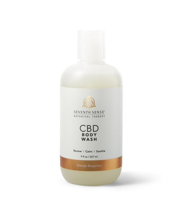 CBD Body Wash Orange Bergamot
