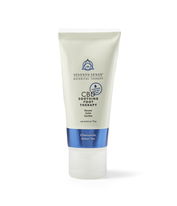 CBD Foot Cream Chamomile Green Tea