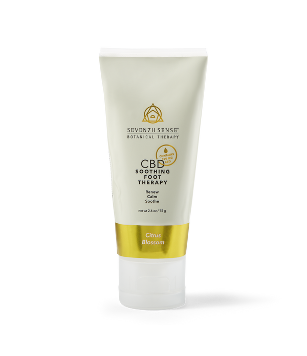CBD Foot Cream Citrus Blossom