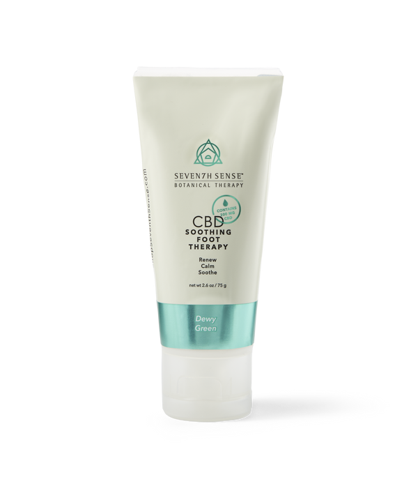 CBD Foot Cream Dewy Green