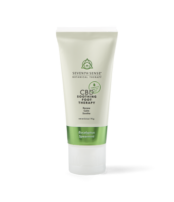 CBD Foot Cream Eucalyptus Spearmint