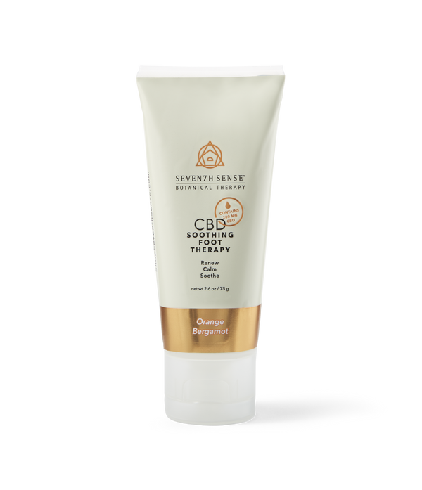 CBD Foot Cream Orange Bergamot