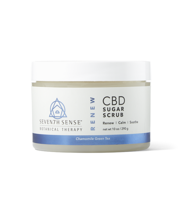 CBD Sugar Scrub Chamomile Green Tea