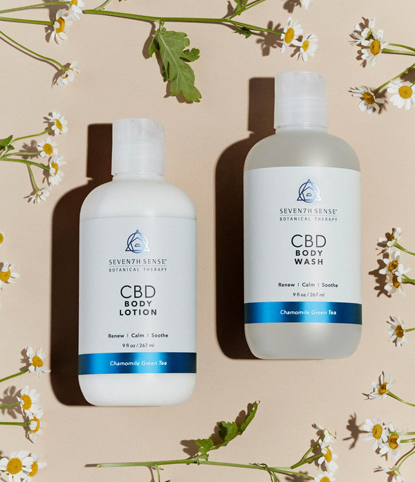 CBD Body Lotion Chamomile Green Tea