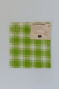 Plastic Free Soy Wrap Large Green