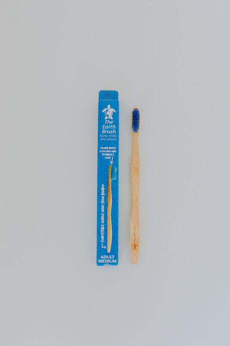 Plastic Free Adult Bamboo Toothbrush