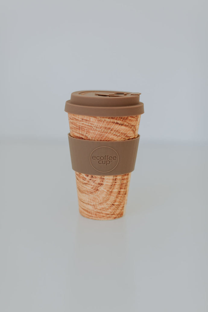 Waste Free Bamboo Coffee Cup 400mL