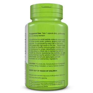 Cell Repair Balance | Glutathione | bottle image side view