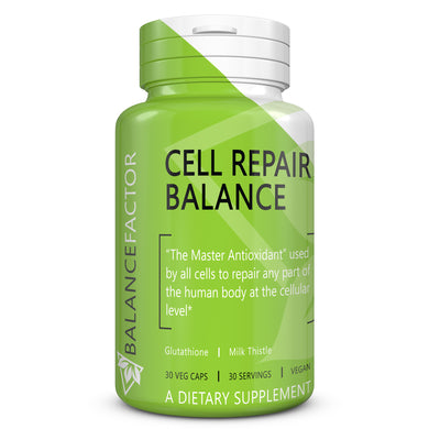 Cell Repair Balance | Glutathione | bottle image front view