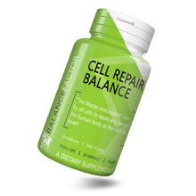 Load image into Gallery viewer, Cell Repair Balance | Glutathione | bottle image front view tilted right