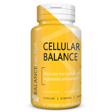 Cellular Balance | Alpha Lipoic Acid | bottle image front view