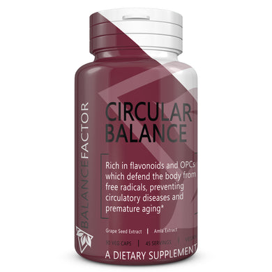 Circular Balance | Grape Seed Extract | bottle image front view