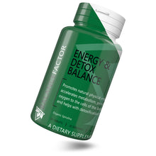 Load image into Gallery viewer, Energy & Detox Balance | Spirulina | bottle image front view tilted right