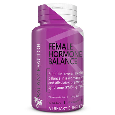 Female Hormone Balance | Vitex | bottle image front view