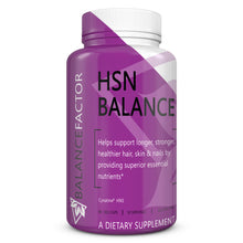 Load image into Gallery viewer, HSN Balance | Hair, Skin & Nails | bottle image front view