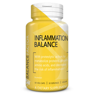 Inflammation Balance | Bromelain | bottle image front view