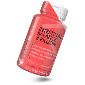 Balance Factor  Intestinal Balance 4 Billion CFU - Probiotics - Tilt