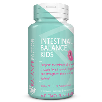 Intestinal Balance Kids | Probiotics | bottle image front view