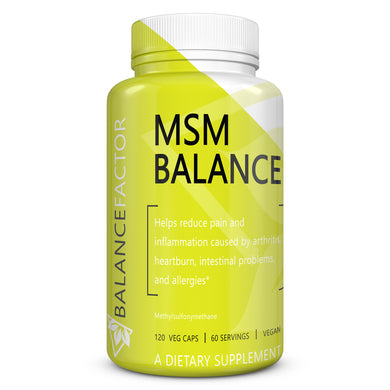 MSM Balance | Methylsulfonylmethane | bottle image front view