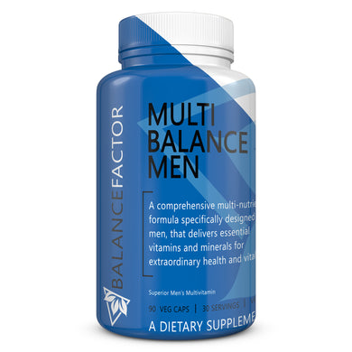 Multi Balance Men | Multivitamin | bottle image front view