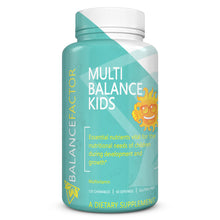 Load image into Gallery viewer, Multi Balance Kids | Multivitamins | bottle image front view
