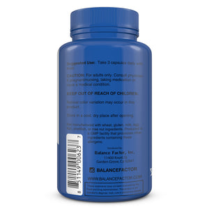Balance Factor  Multi Balance Men - Men's Multivitamin - Usage