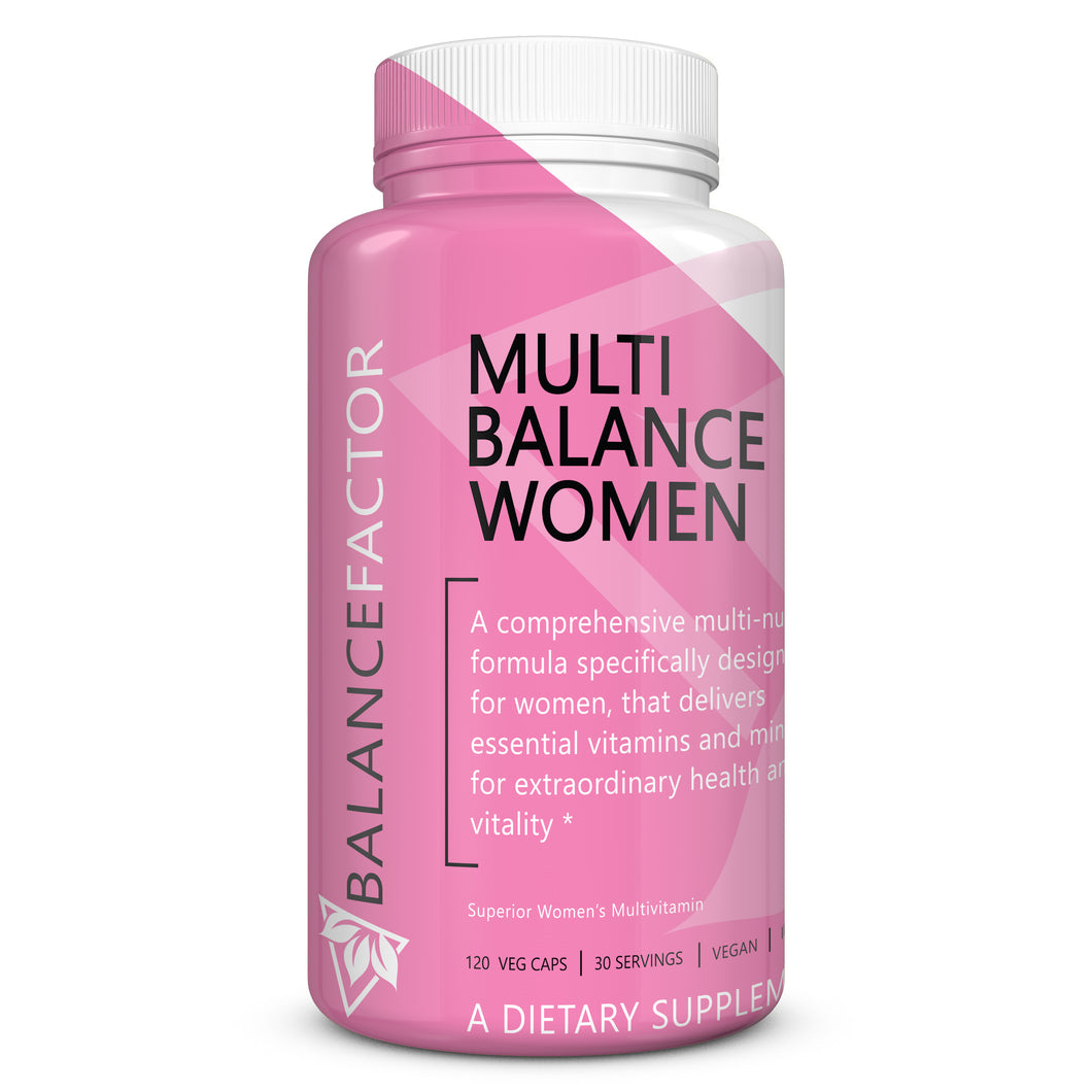 Multi Balance Women | Multivitamin | bottle image front view