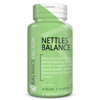Nettles Balance bottle image front view