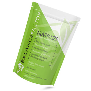 Balance Factor  Nuvitalize  Immune Booster - Daily Antioxidant Revitalizer - Tilt