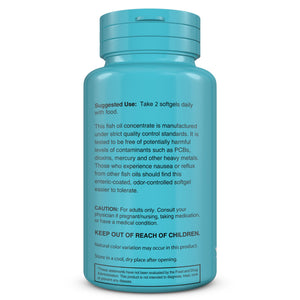 Balance Factor  OMG Omega 3 - Omega 3  DHA/EPA Fish Oil - Usage