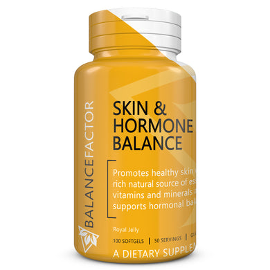 Skin & Hormone Balance | Royal Jelly | bottle image front view