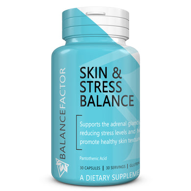 Skin and Stress Balance | Vitamin B5 | bottle image front view
