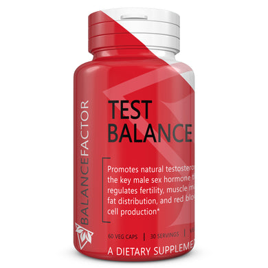 Test Balance | Testosterone | bottle image front view