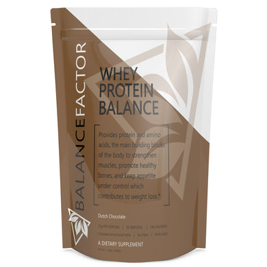 Whey Protein Balance Dutch Chocolate bottle image front view