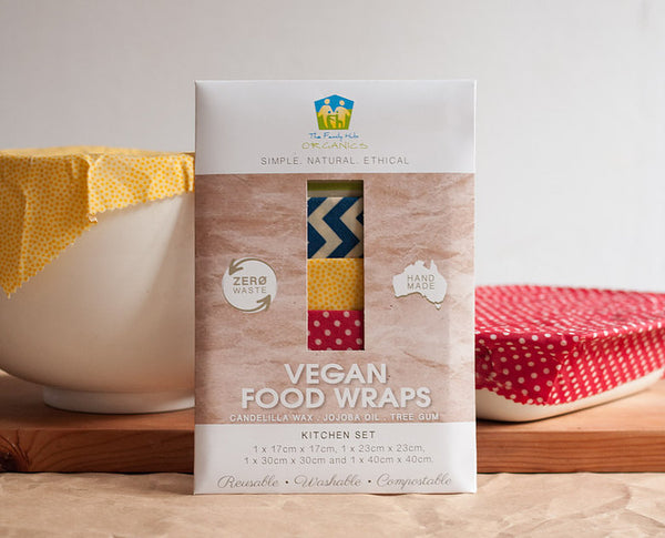 Vegan Food Wraps- Kitchen Set