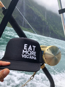 Eat more vegaina trucker hat