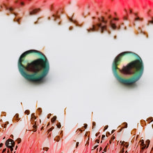 Load image into Gallery viewer, Tahitian pearl studs