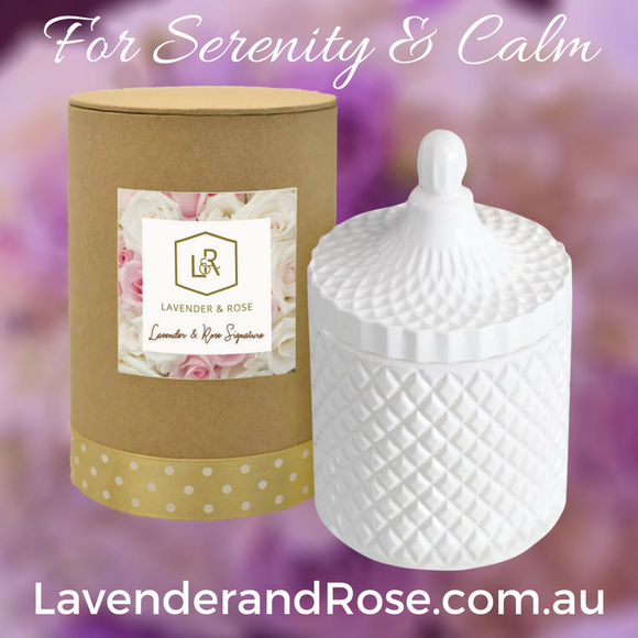 Our top Selling Lavender based Candle Fragrance to add moments of Serenity and Calm in your life