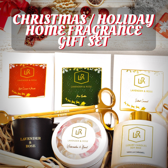 Australian Made Natural Scented Candles & Home Fragrances make great gifts for the holidays!