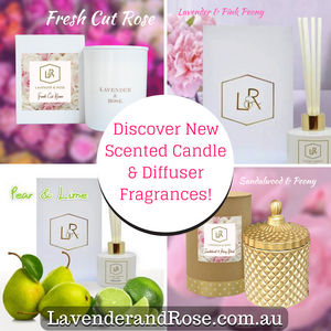 Discover New Spring Fragrances with our Scented Candles and Diffusers! 🌷🌸