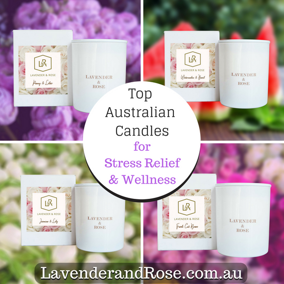 Top NEW Australian Made Candle Fragrances for Stress Relief and Wellness