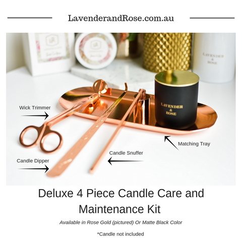 Deluxe 4 Piece Candle Care Kit