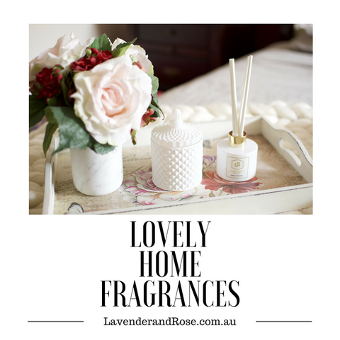 Lavender and Rose Home Fragrances & Scented Candles