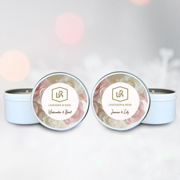 Mini Duo Luxury Candle Tin