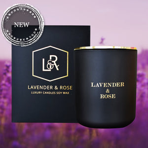 Lavender & Cashmere Woods Candle