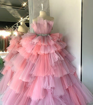 Pink Tulle Candy Dress