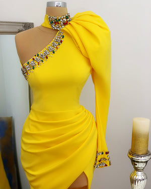 Favorite Gown In Yellow