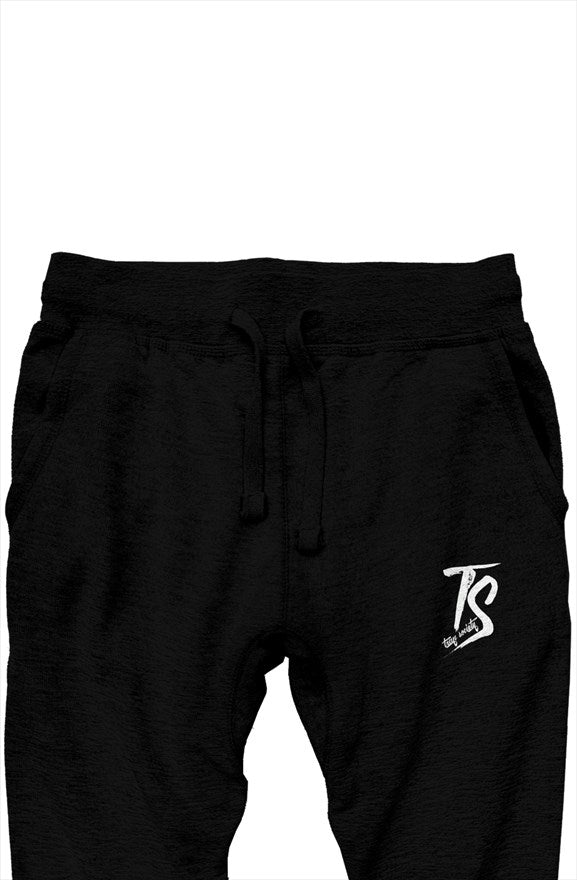 Trap Society Joggers-Black