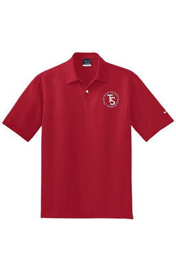 Team Nike Trap Stamp Dri Fit  Polo-Red