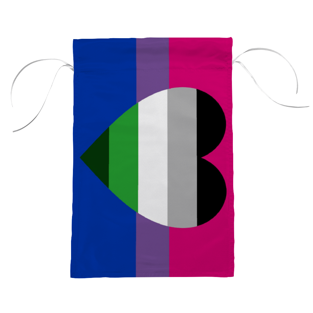 Bisexual GrayAromantic Pride Flag | The Rainbow's Brand